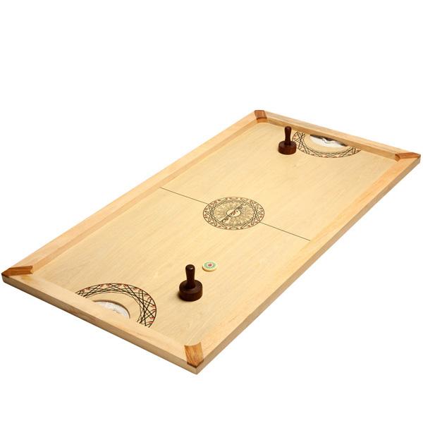 shuffle puck jeux en bois boutique jeux de soci t. Black Bedroom Furniture Sets. Home Design Ideas
