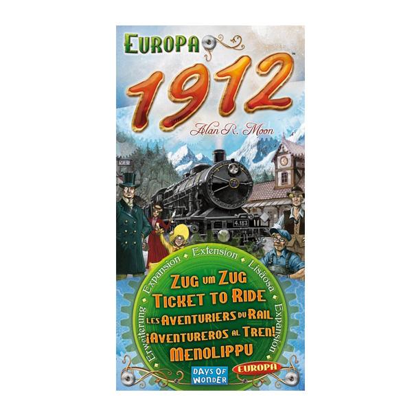Acheter Les Aventuriers Du Rail  Europe  Extension 1912 Aventure / Stratégie