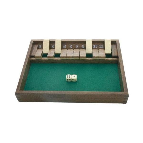 shut the box jeux en bois location jeux de soci t blois. Black Bedroom Furniture Sets. Home Design Ideas