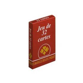 Jeu de 32 cartes - France Cartes