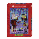 Puzzle 1000 pièces - Monsters - Heye