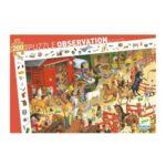 Puzzle - 200 pièces - Equitation - Djeco