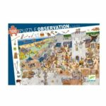 Puzzle 100 pièces - Le château fort - Djeco