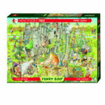 Puzzle 1000 pièces - Funky Zoo