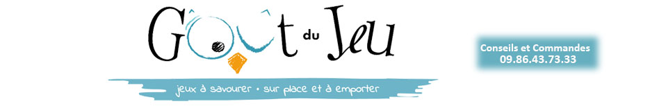 Logo Goût du jeu  – Magasin Jeux de société Blois