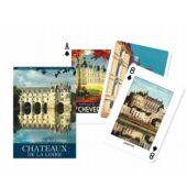 Jeu de 54 cartes - Les châteaux de la Loire