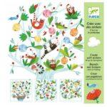 Créer avec des stickers - C'est toi le printemps - Djeco