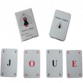 Pioch'à mots - Jeu de cartes
