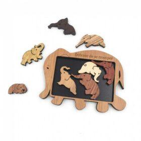 Casse-tête éléphant - Guy Jeandel