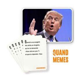 Quand memes - Jeu de cartes