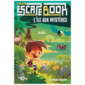 Escape Book - L'île aux mystères