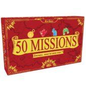50 missions - jeu de cartes coopératif