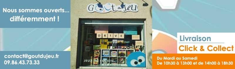 Goût du jeu - Click & Collect