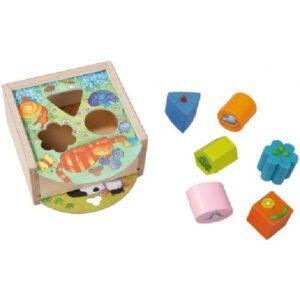 Boîte à Formes - Animaux - Haba - Gout du jeu Boutique jeux de société Blois