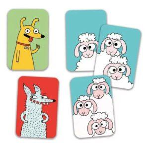 Jeu de carte Swip'Sheep - Djeco - Gout du jeu Boutique jeux de société Blois