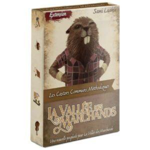 La vallée des marchands - Les castors communs méthodiques - Gout du jeu Boutique Jeux de société Blois