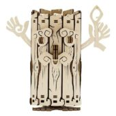 Tirelire Esprit de la forêt - Maquette 3D mobile en bois - Gout du jeu Boutique Jeux de société Blois