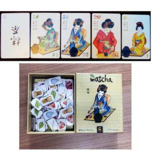 Matcha - Jeu de cartes