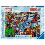 Puzzle 1000 pièces - Marvel (Challenge Puzzle)