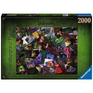 Puzzle 2000 pièces - Villainous - Méchants Disney