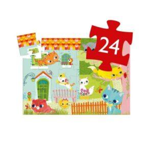 Puzzle 24 pièces - Pachat et ses amis - Djeco