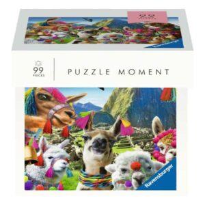 Puzzle 99 pièces - Moment : Lamas