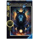 Puzzle 500 pièces - Star Line - Loup Lumineux