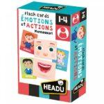 Flashcards Émotions et Actions Montessori - Gout du jeu Boutique jeux de société Blois
