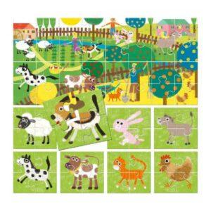 Puzzle 8+1 My Farm - Gout du jeu Boutique jeux de société Blois