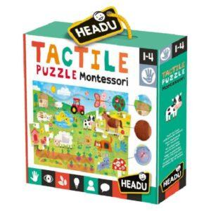 Tactile Puzzle Montessori - Gout du jeu Boutique jeux de société Blois