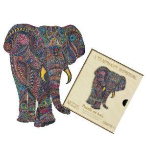 Puzzle en bois - Éléphant Impérial