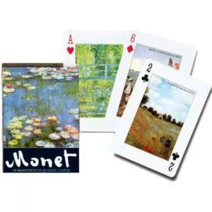 Jeu de 54 cartes - Monet